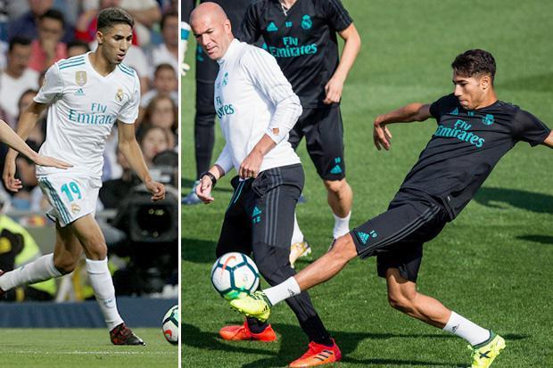 تقارير اسبانية: زيدان يعيد أشرف حكيمي لريال مدريد