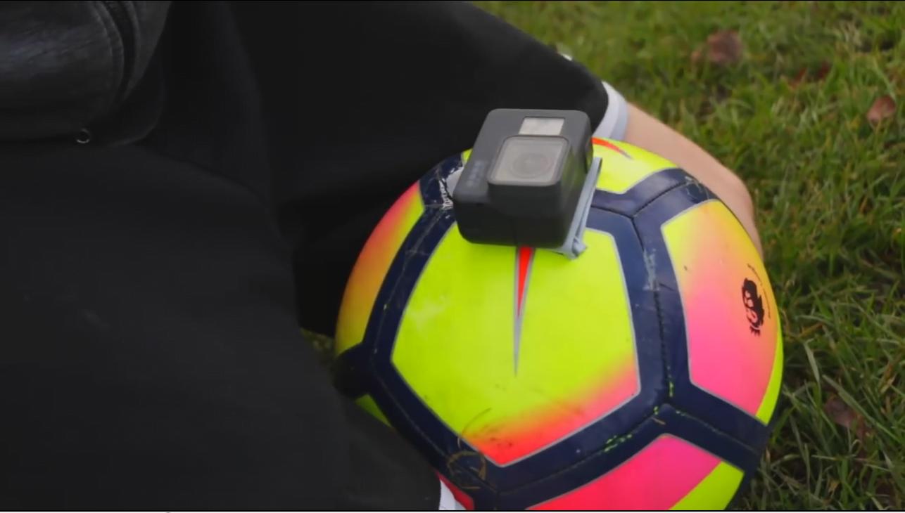 فيديو: الصق كاميرا على كرة قدم .. وهكذا كانت النتيجة !