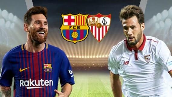 القنوات المجانية الناقلة لمباراة إشبيلية ضد برشلونة في الدوري الأسباني اليوم