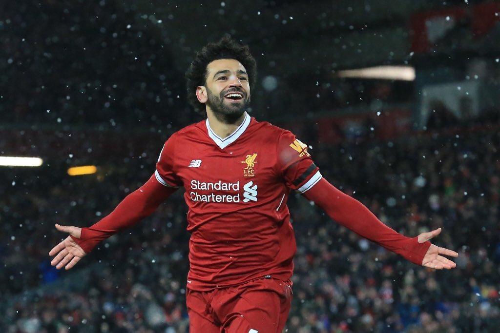 محمد صلاح يتوج بجائزة أفضل لاعب في الشهر بالدوري الإنجليزي
