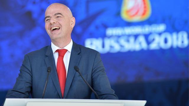 """رئيس الفيفا : تقنية """"الفار"""" تساعد فى أن تكون كرة القدم عادلة"""