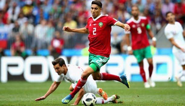 أشرف حكيمي: سنلعب أمام إسبانيا من أجل الكرامة