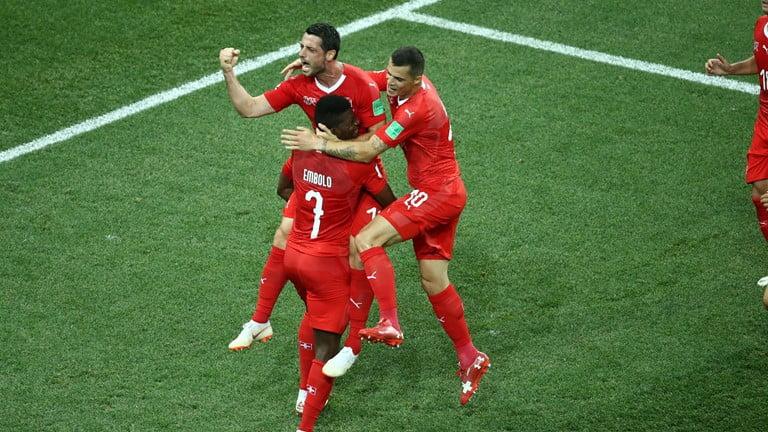 سويسرا تتعادل مع كوستاريكا فى مباراة مجنونة ويتأهل لدور 16