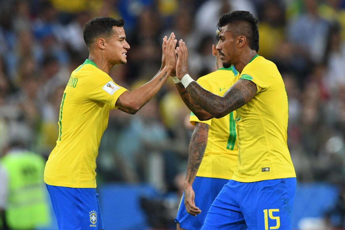 المنتخب البرازيلى يتأهل رسميا إلى دور الـ 16 بثنائية فى صربيا