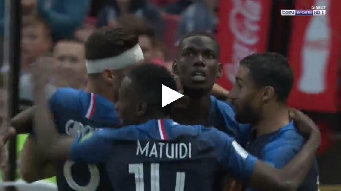 فيديو: هدف فرنسا الثاني في مرمى استراليا