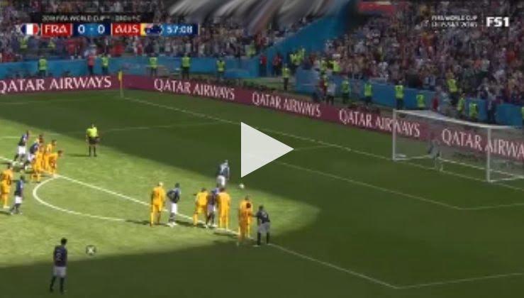 هدف فرنسا الأول في مرمى أستراليا