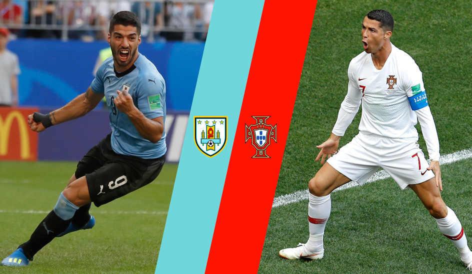 موعد مباراة البرتغال وأوروجواي كأس العالم 2018 والقنوات الناقلة