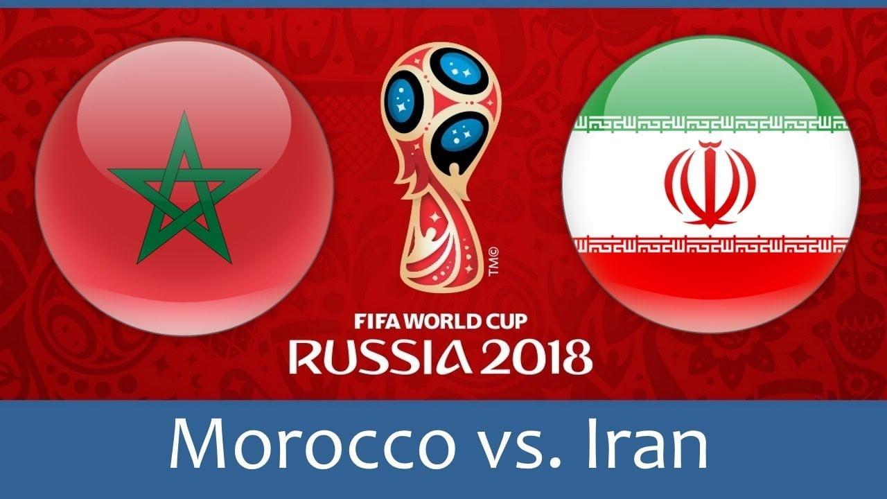 موعد مباراة المغرب وايران يوم 15 يونيو في كاس العالم 2018 بروسيا