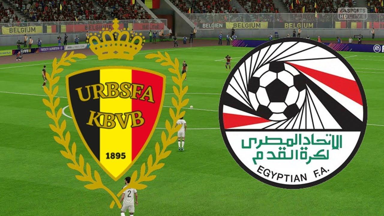 موعد مباراة مصر وبلجيكا الودية الأخيرة استعدادا لمونديال روسيا 2018 والقنوات الناقلة للمباراة