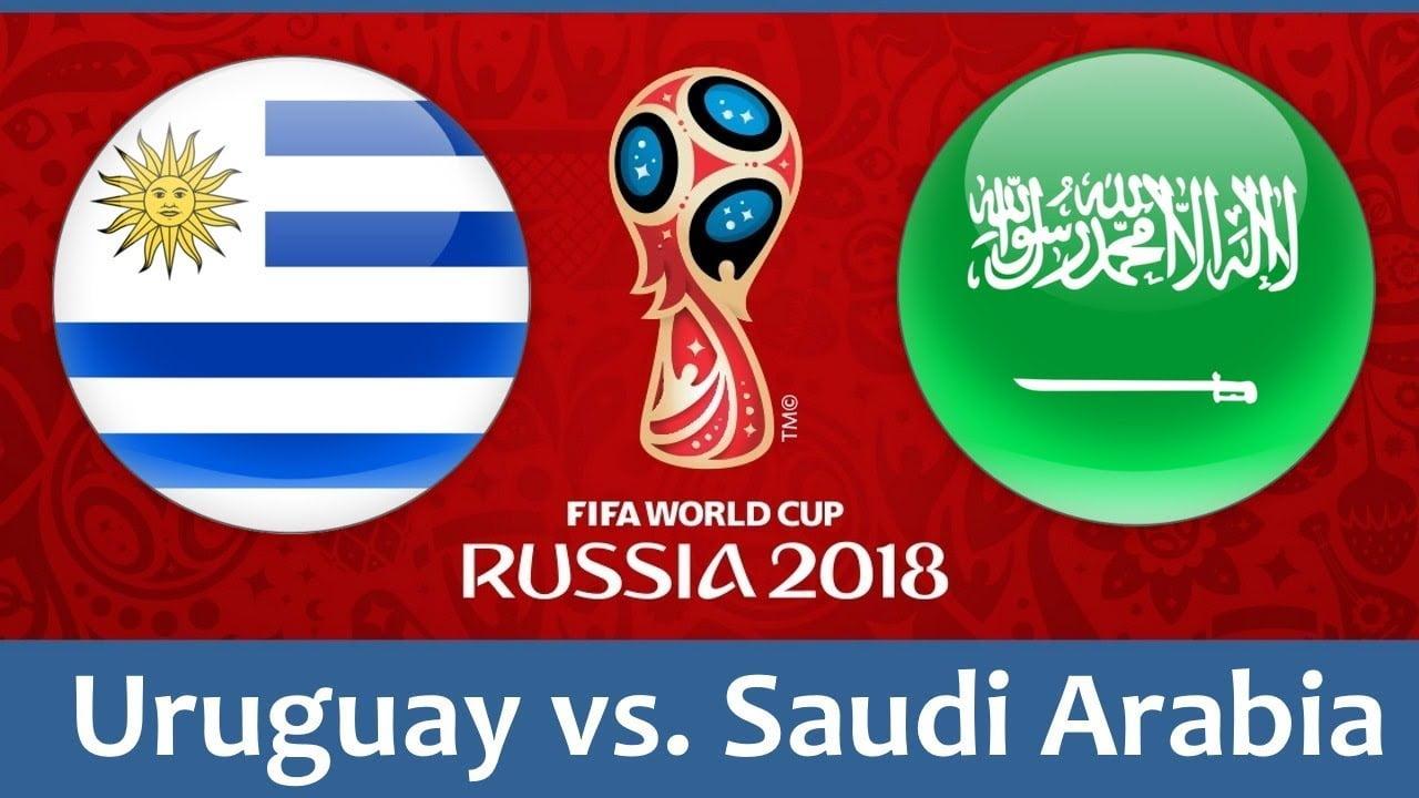 موعد مباراة السعودية وأوروجواي بالمجموعة الأولى ببطولة كأس العالم 2018 الدور الأول