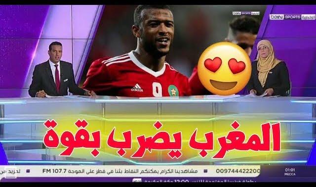 تقرير رائع لبي ان سبورت عن تألق و فوز المغرب على سلوفاكيا في إستعداداته للمونديال !