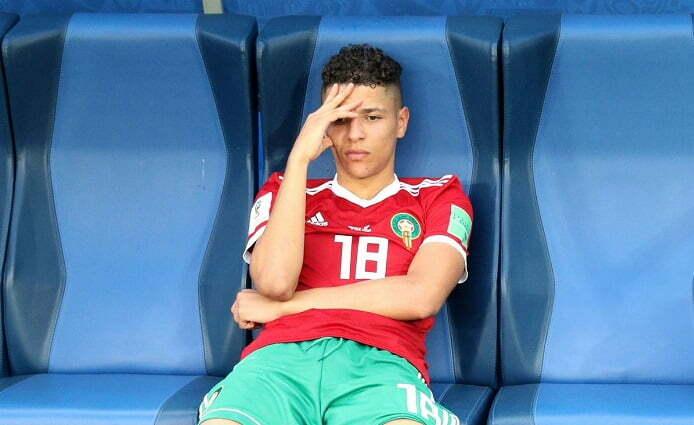 محكمة مراكش تقضي بالسجن في حق لاعب المنتخب أمين حارث