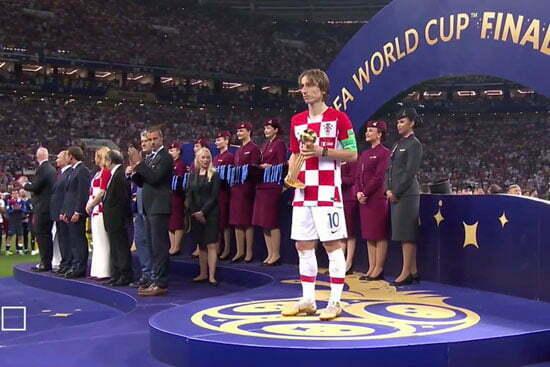 كأس العالم 2018.. تعرف على ترتيب أفضل لاعبي المونديال