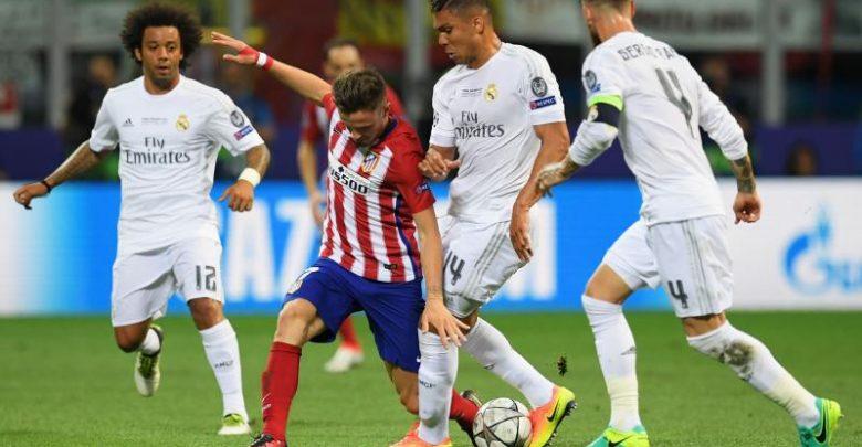 موعد مباراة ريال مدريد ضد اتلتيكو مدريد في كاس السوبر الاوروبي 2018 والقنوات الناقلة