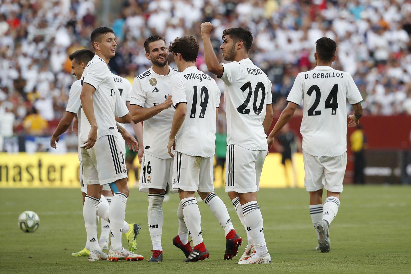 التشكيلة المتوقعة لمباراة ريال مدريد وأتلتيكو فى السوبر الأوروبى