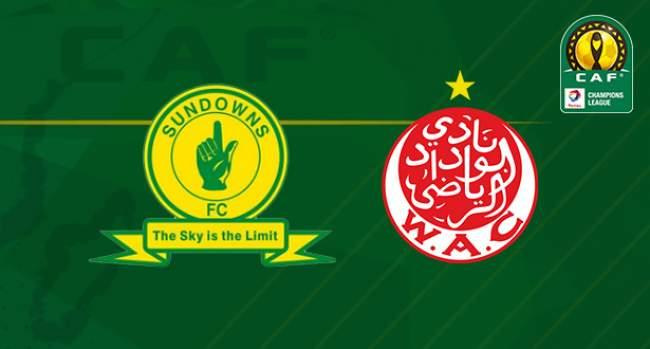 موعد مباراة الوداد وصن داونز دوري أبطال أفريقيا والقنوات الناقلة