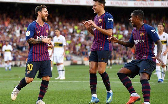 أول رد فعل من ميسي على خسارة ريال مدريد السوبر الأوروبي