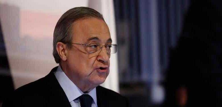 الكشف عما سيفعله بيريز بعد خسارة ريال مدريد لقب السوبر