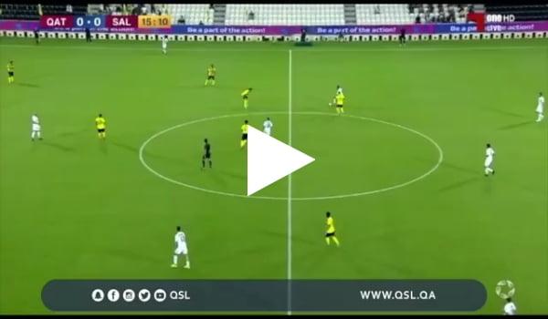 تيبركانين يسجل هدفا رائعا للسيلية في مرمى قطر