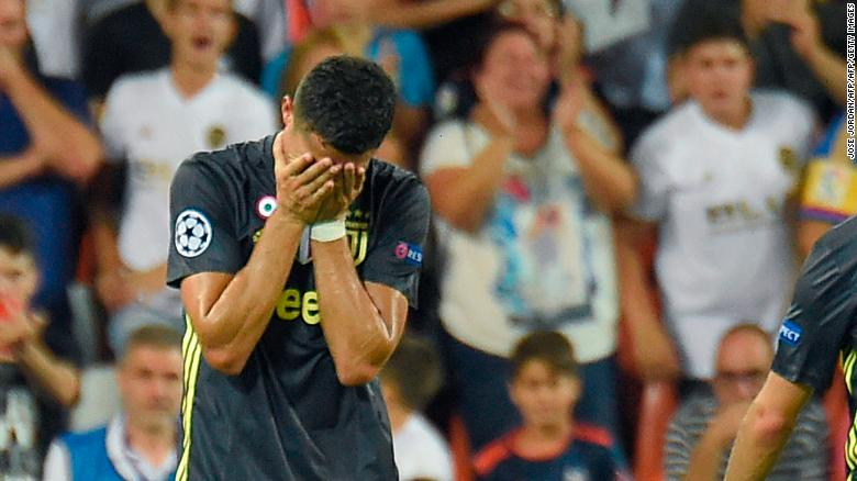 عقوبة مخففة تنتظر رونالدو في دوري الأبطال