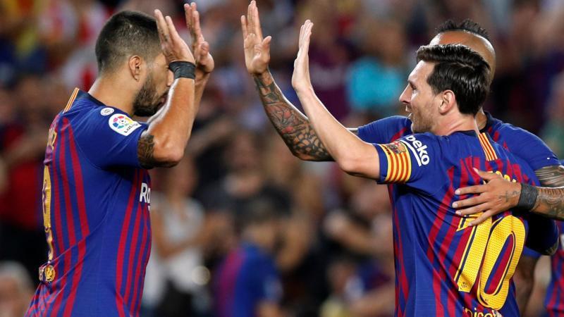 برشلونة ضيفا ثقيلا على ليجانيس من أجل تعزيز صدارة الدوري الإسباني