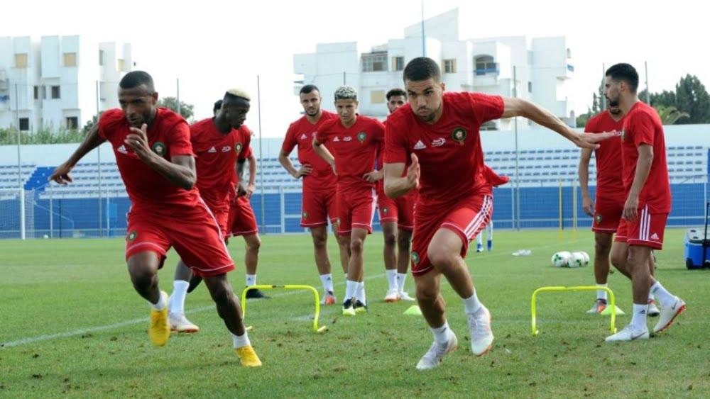 المنتخب الوطني يجري آخر حصة تدريبية قبل مواجهة مالاوي