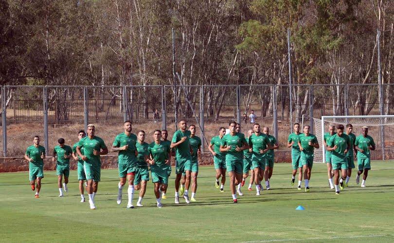المنتخب المغربي يختتم تحضيراته لمباراة مالاوي