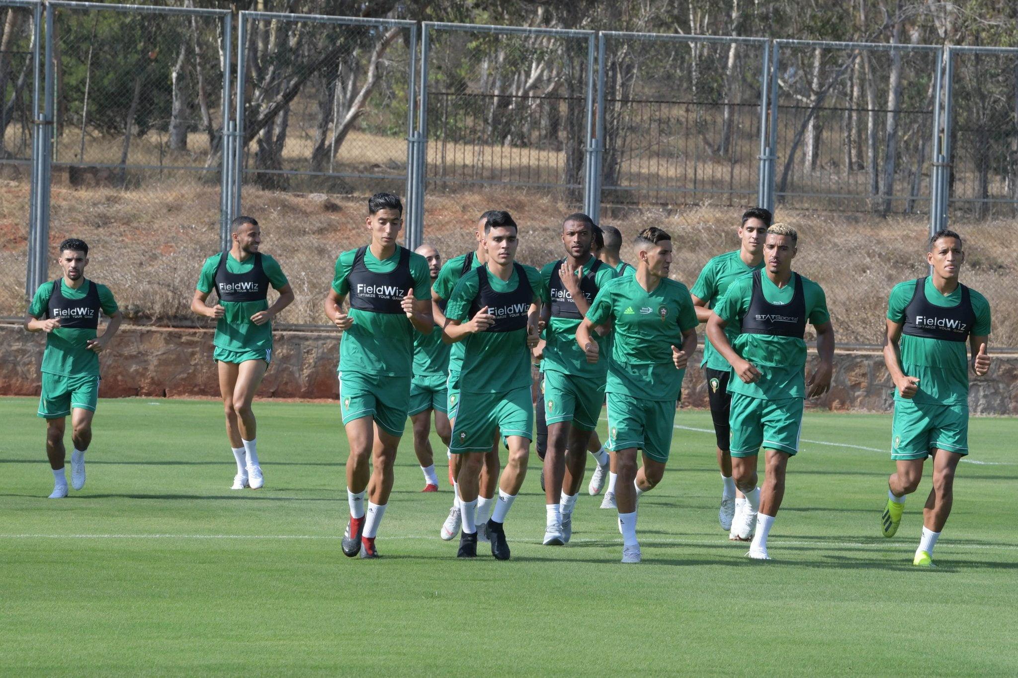 برنامج معسكر المنتخب المغربي استعدادا لمواجهة مالاوي