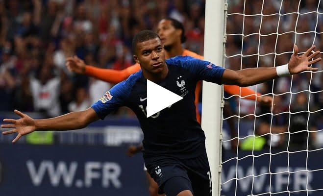 فيديو: أهداف مباراة فرنسا وهولندا 2-1 دوري الامم الاوروبية