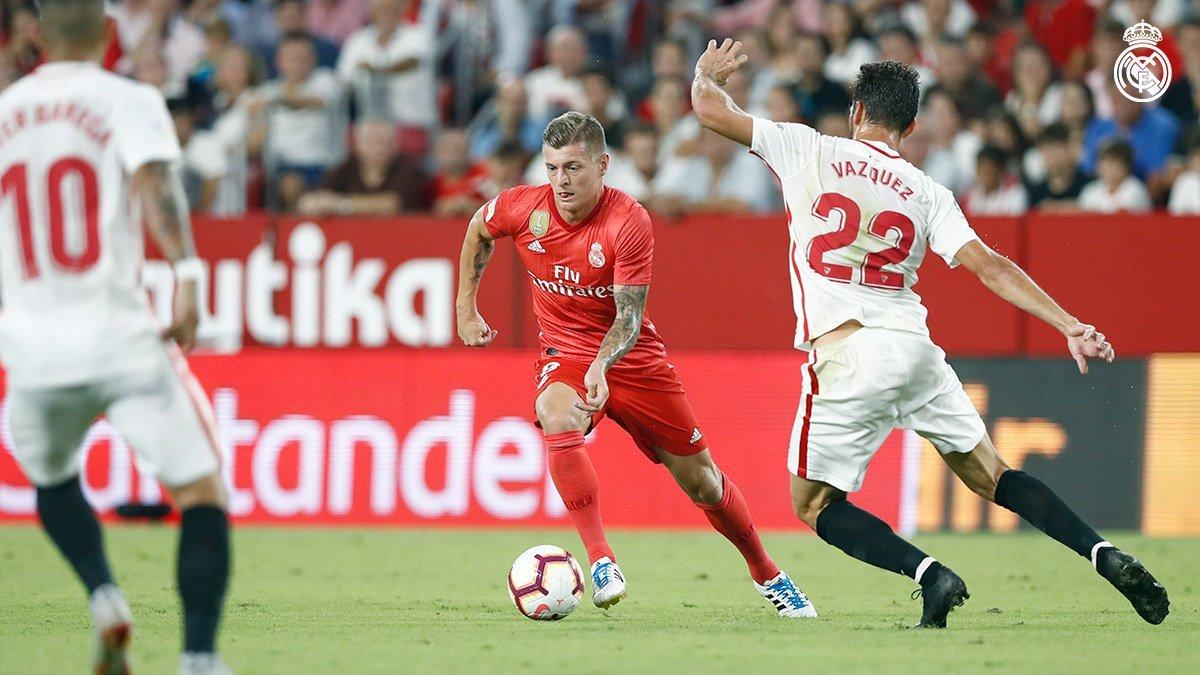 ريال مدريد يسقط بثلاثية مذلة أمام إشبيلية بالدوري الإسباني