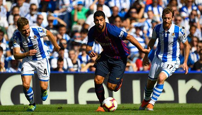 برشلونة يقلب الطاولة على ريال سوسيداد بهدفين سريعين وينفرد بصدارة الليجا مؤقتا