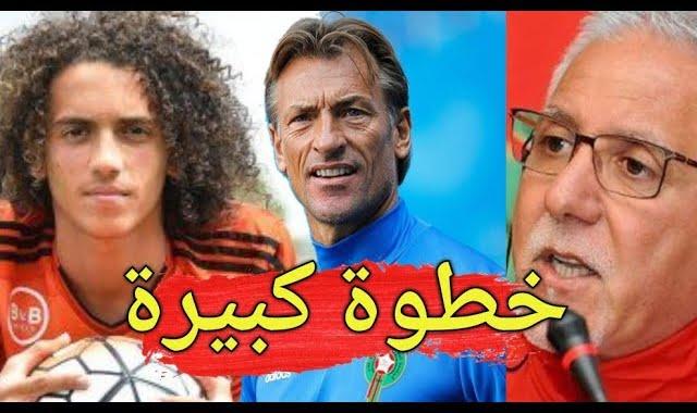 هيرفي رونار يقوم بهذه الخطوة المهمة لاستدعاء اللاعب ماتيو الغندوزي لمباراة المغرب القادمة