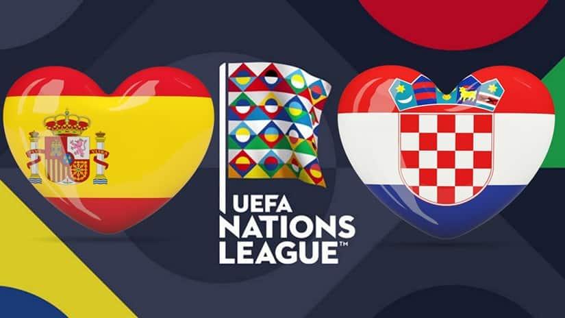 موعد مباراة أسبانيا وكرواتيا في دوري الأمم الأوروبية والقنوات المفتوحة الناقلة