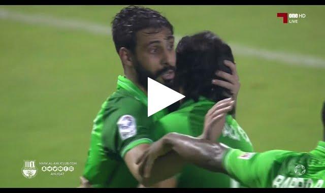 محسن متولي يفوز على عزيز العامري بتسجيل هدفين رائعين وأسيست
