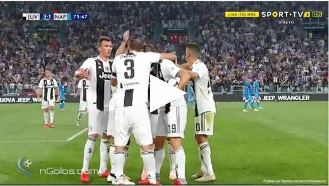 أهداف مباراة يوفنتوس ونابولي 3-1 الدوري الإيطالي