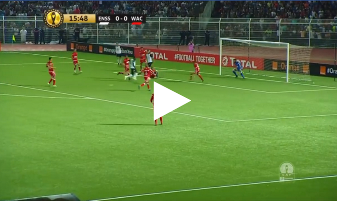ملخص مباراة وفاق سطيف والوداد الرياضي 1-0 دوري ابطال افريقيا