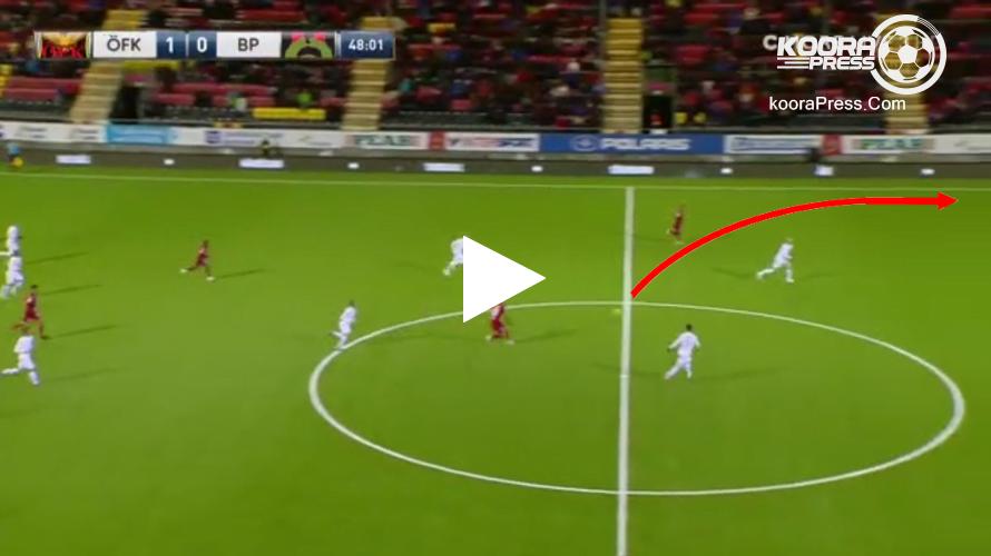 فيديو: لاعب يُسجل هدفًا من منتصف الملعب بالدوري السويدي!