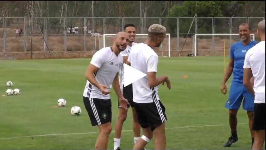 فيديو: تصريحات لاعبي المنتخب الوطني الأول عقب تداريب اليوم الرابع