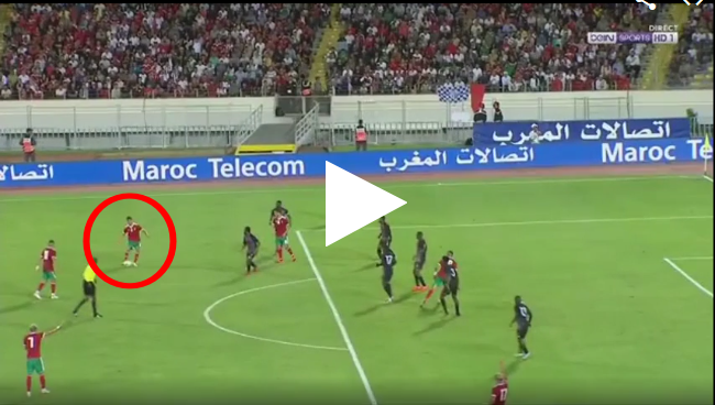أسيست خرافي من أشرف حكيمي في مباراة مالاوي