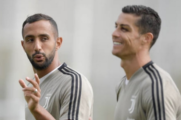 رونالدو يعود إلى تدريبات يوفنتوس بكدمة واضحة على العين