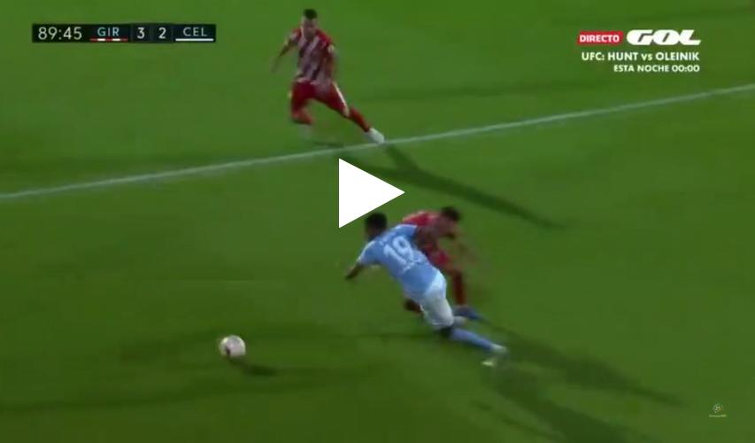 مهارة المتألق سفيان بوفال أمام جيرونا في الدوري الإسباني