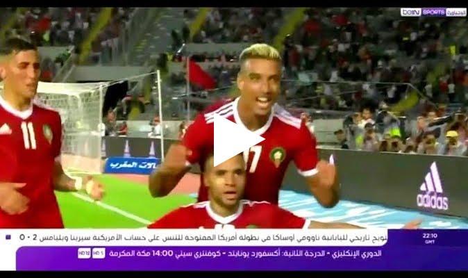 تقرير بي ان سبورت عن فوز المغرب على مالاوي 3-0 في تصفيات كاميرون 2019