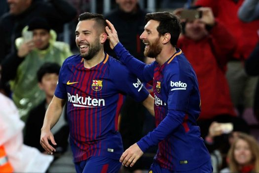 برشلونة يتحرك لتجديد عقد جوردي ألبا