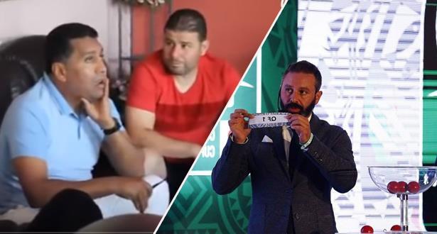 رد فعل رشيد الطاوسي و حسان حمار لحظة الإعلان عن اسم الوداد خصما لوفاق سطيف الجزائري