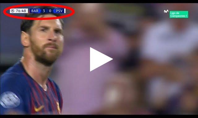 فيديو: هدف برشلونة الثالث في مرمى آيندهوفن