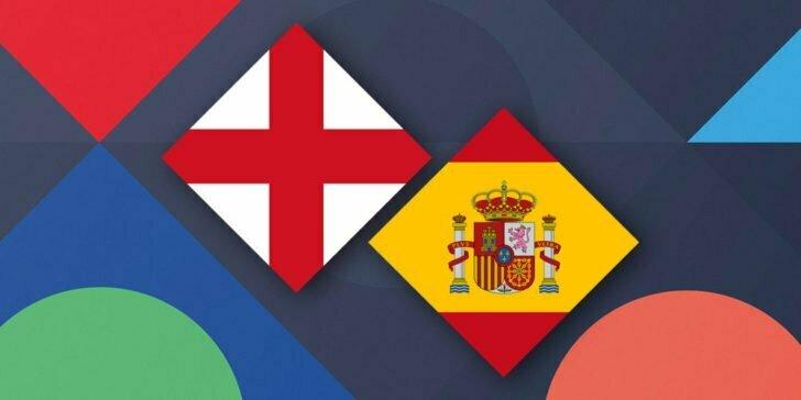 موعد مباراة إنجلترا ضد أسبانيا في دوري الأمم الأوروبية