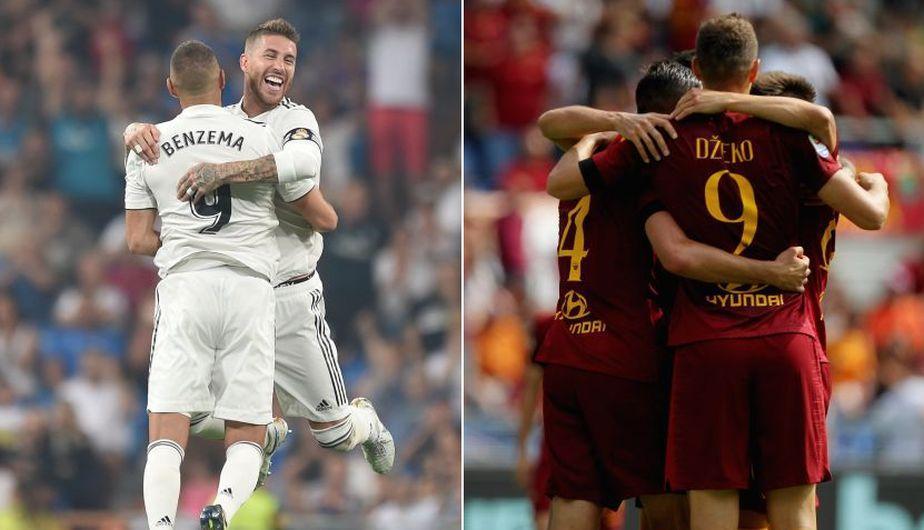القنوات المفتوحة والمجانية الناقلة لمباراة ريال مدريد وروما اليوم الأربعاء 19-9-2018 في دوري أبطال أوروبا