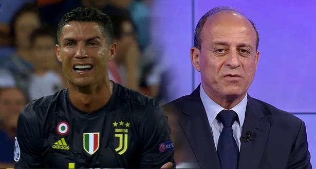 جمال الشريف يحسمها بخصوص طرد رونالدو أمام فالنسيا