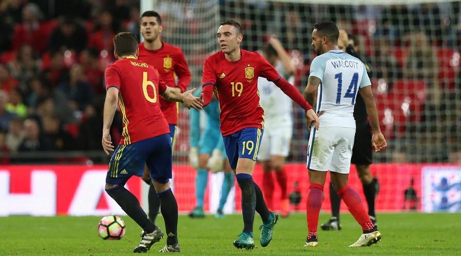 موعد مباراة انجلترا وأسبانيا والقنوات الناقلة للمباراة