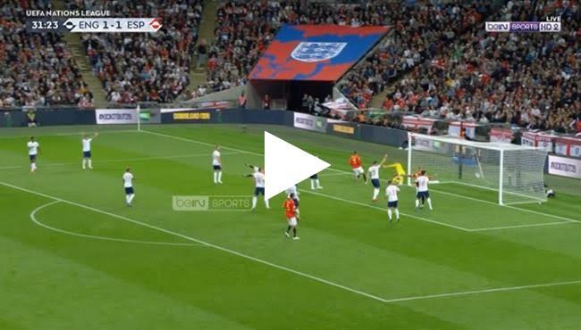 اهداف وملخص مباراة اسبانيا وانجلترا 2-1 دوري الأمم الأوروبية